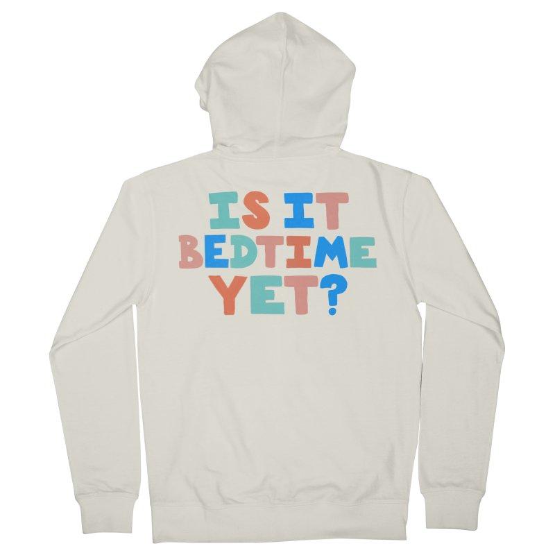 Is It Bedtime Men's Zip-Up Hoody by Sam Osborne Store