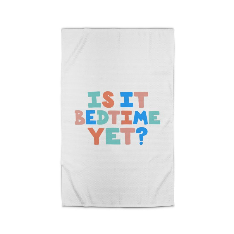 Is It Bedtime Home Rug by Sam Osborne Store