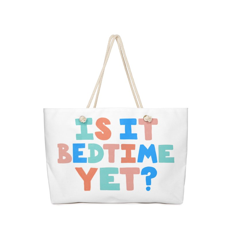 Is It Bedtime Accessories Bag by Sam Osborne Store