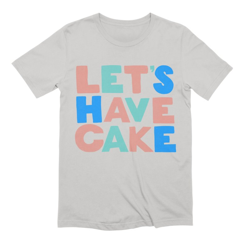 Let's Have Cake Men's Extra Soft T-Shirt by Sam Osborne Store