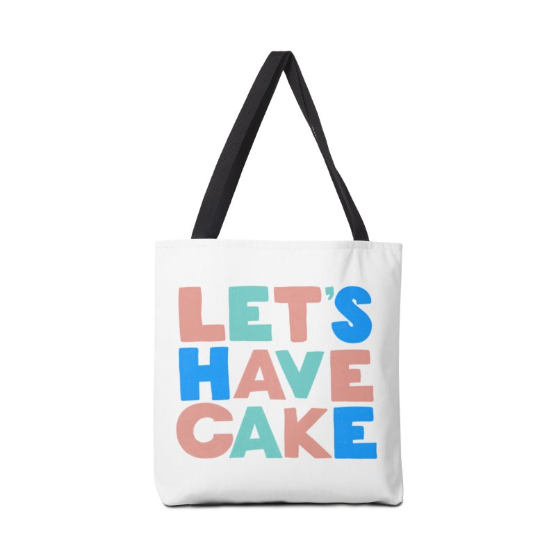 Let's Have Cake Accessories Bag by Sam Osborne Store