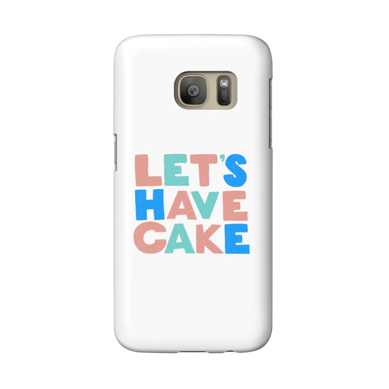 Let's Have Cake Accessories Phone Case by Sam Osborne Store