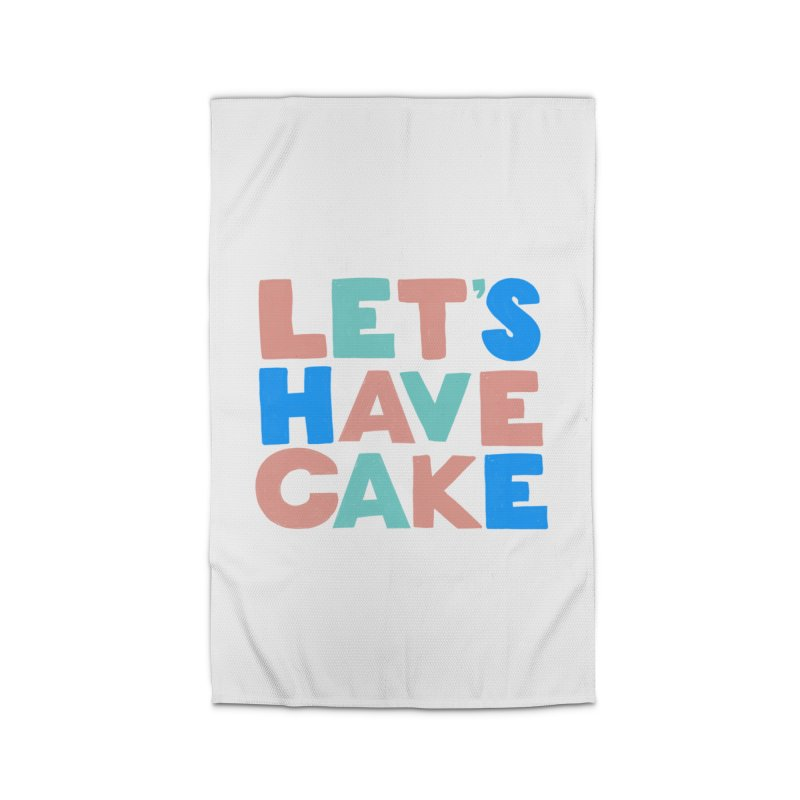 Let's Have Cake Home Rug by Sam Osborne Store