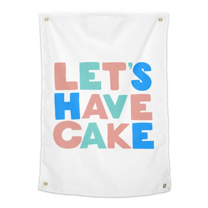 Let's Have Cake Home Tapestry by Sam Osborne Store