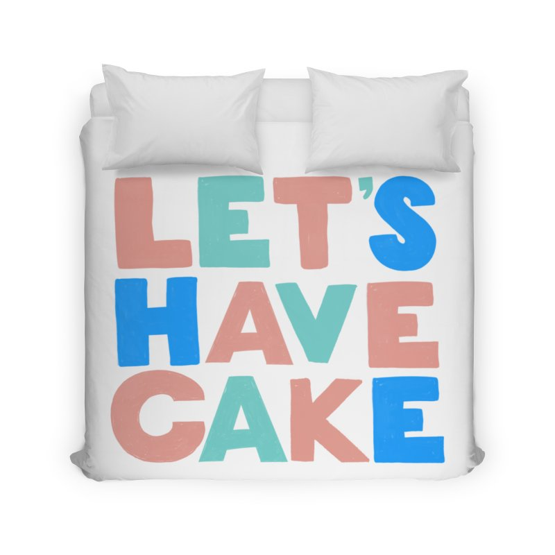 Let's Have Cake Home Duvet by Sam Osborne Store