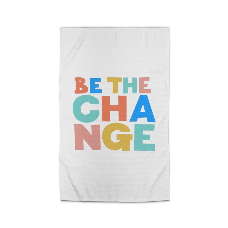 Be The Change Home Rug by Sam Osborne Store