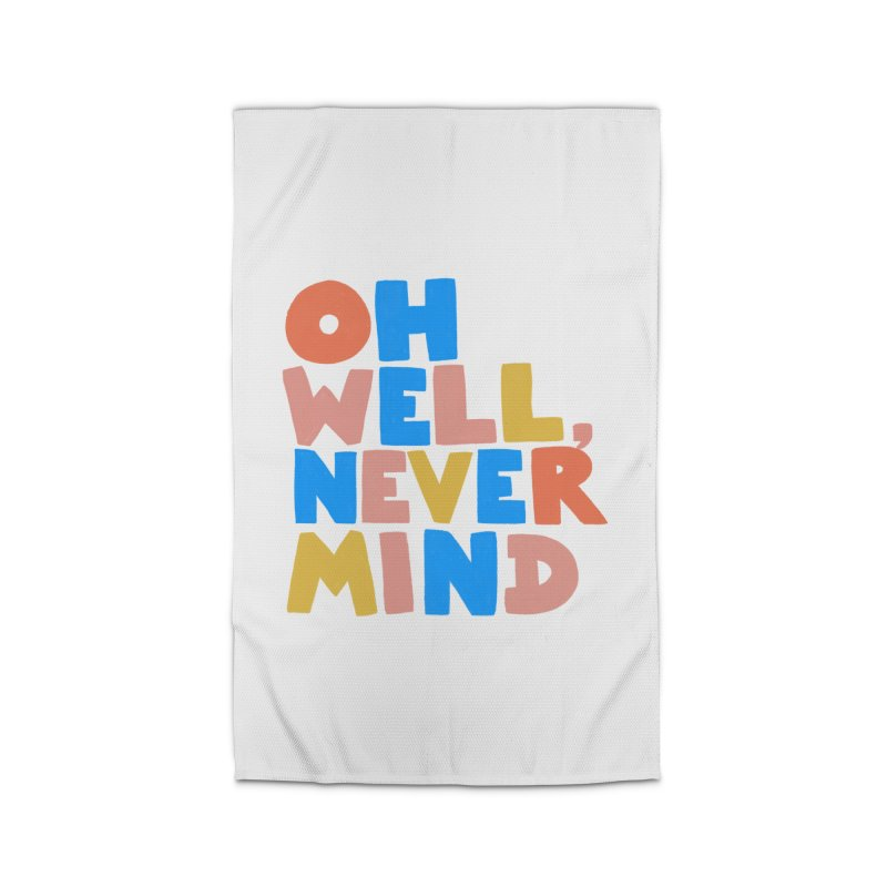 Oh Well Nevermind Home Rug by Sam Osborne Store