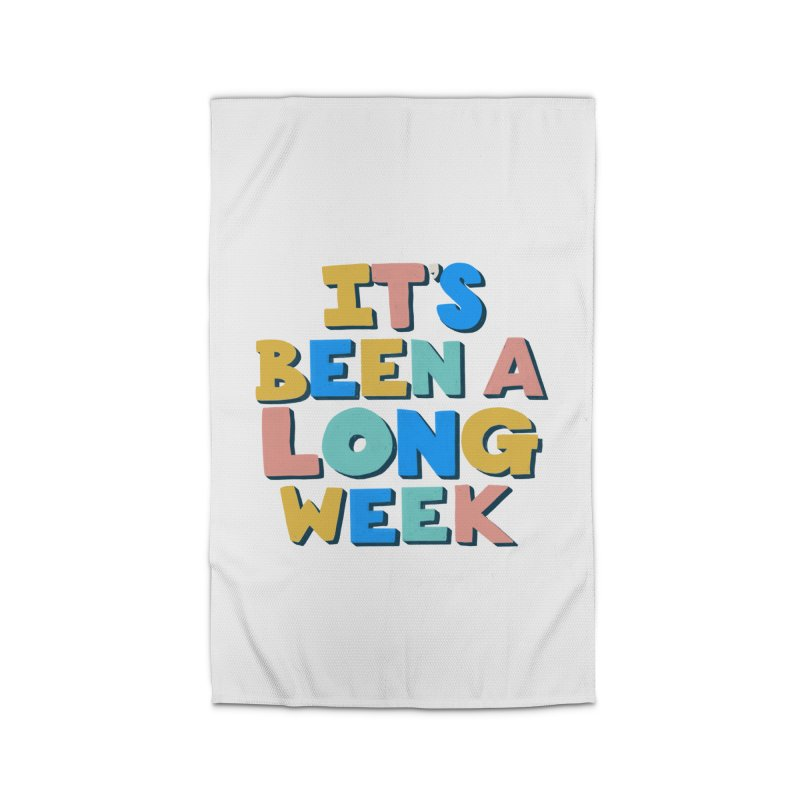 It's Been A Long Week Home Rug by Sam Osborne Store