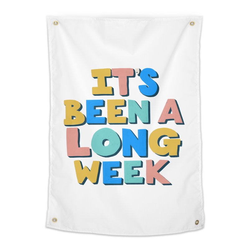 It's Been A Long Week Home Tapestry by Sam Osborne Store