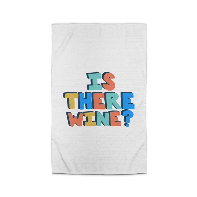 Is There Wine? Home Rug by Sam Osborne Store