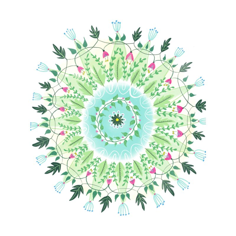 Flower Circle None  by Sam Osborne Store