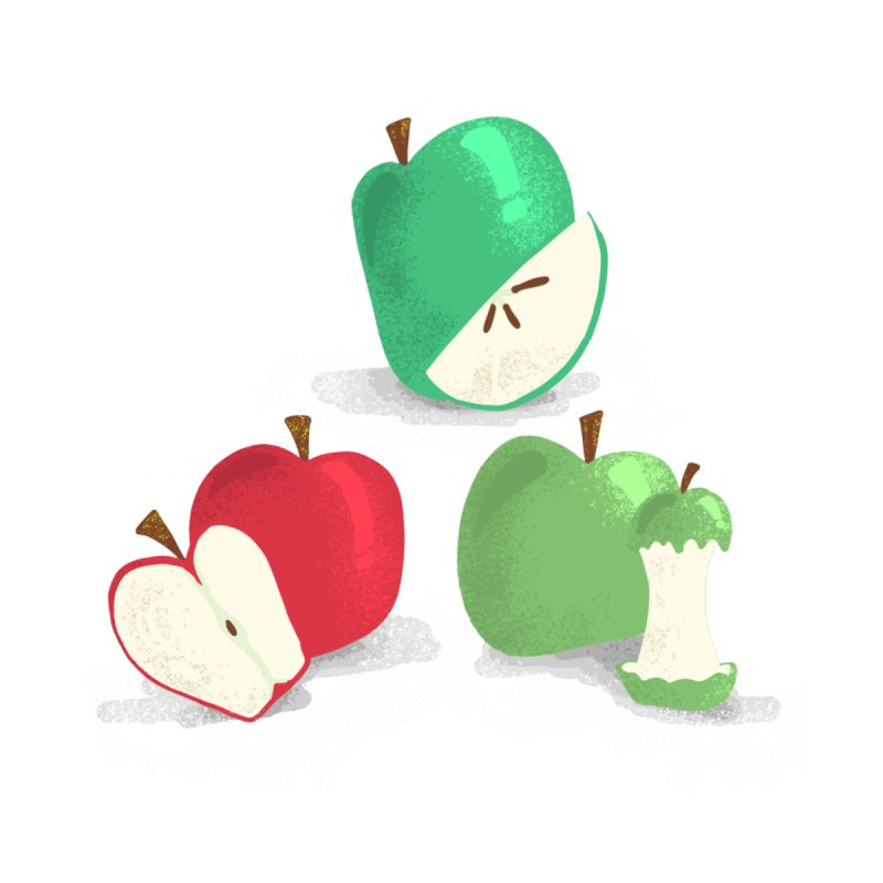 Three Apples None  by Sam Osborne Store