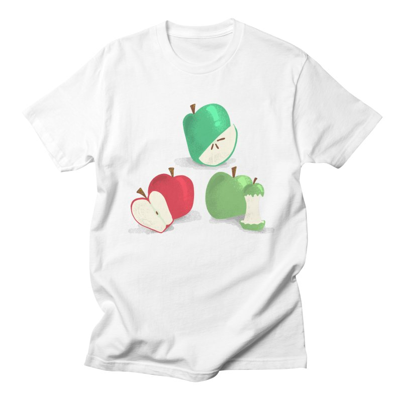 Three Apples Men's T-Shirt by Sam Osborne Store