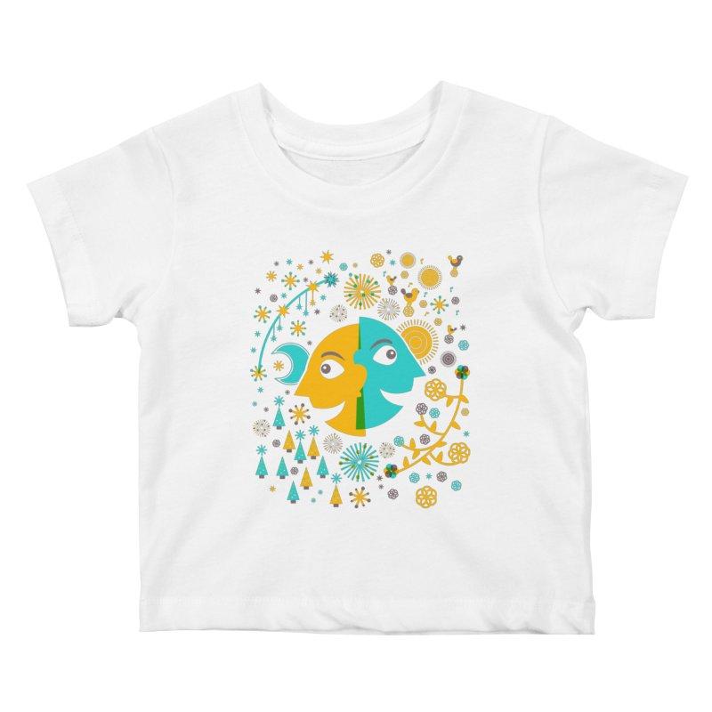 Seasons Kids Baby T-Shirt by Sam Osborne Store