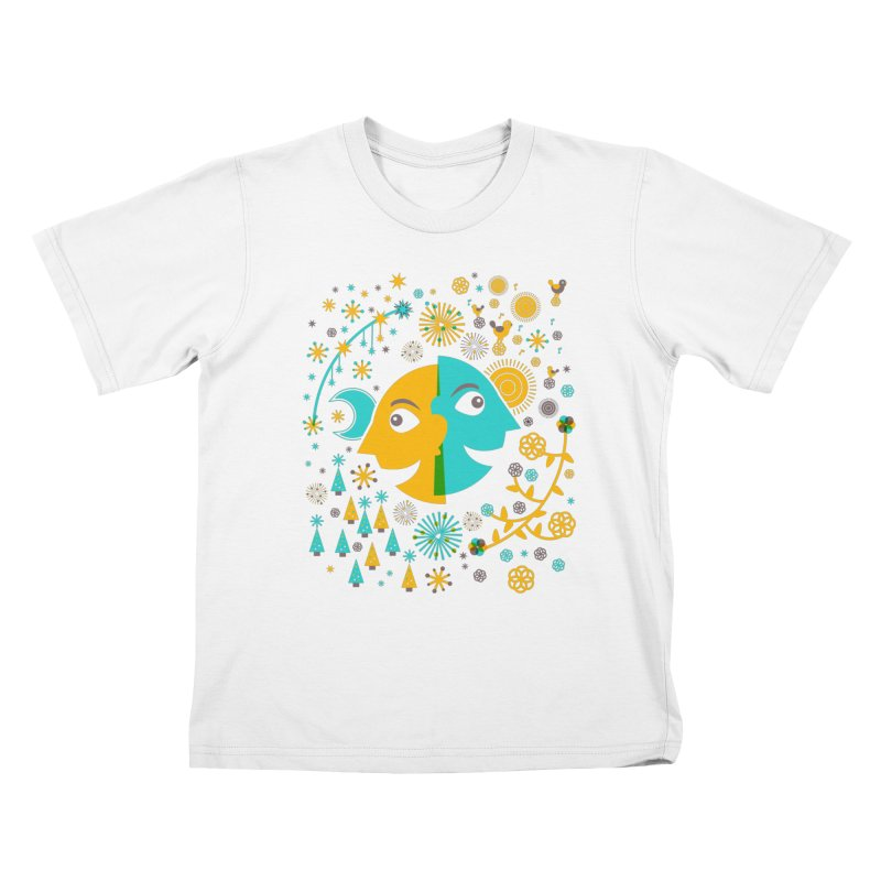 Seasons Kids T-shirt by Sam Osborne Store