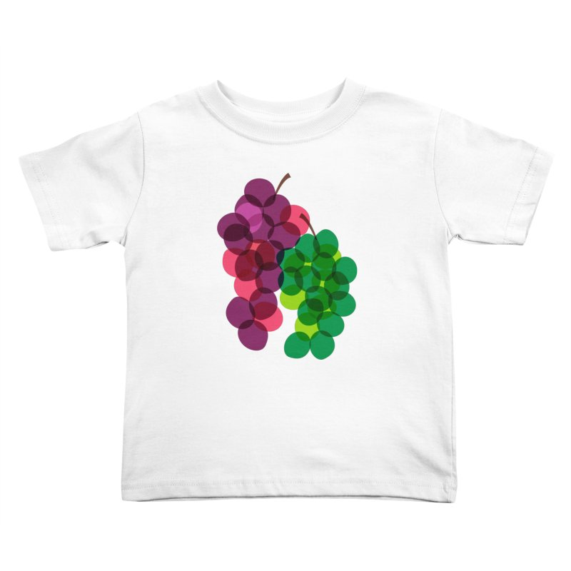 Grapes Kids Toddler T-Shirt by Sam Osborne Store