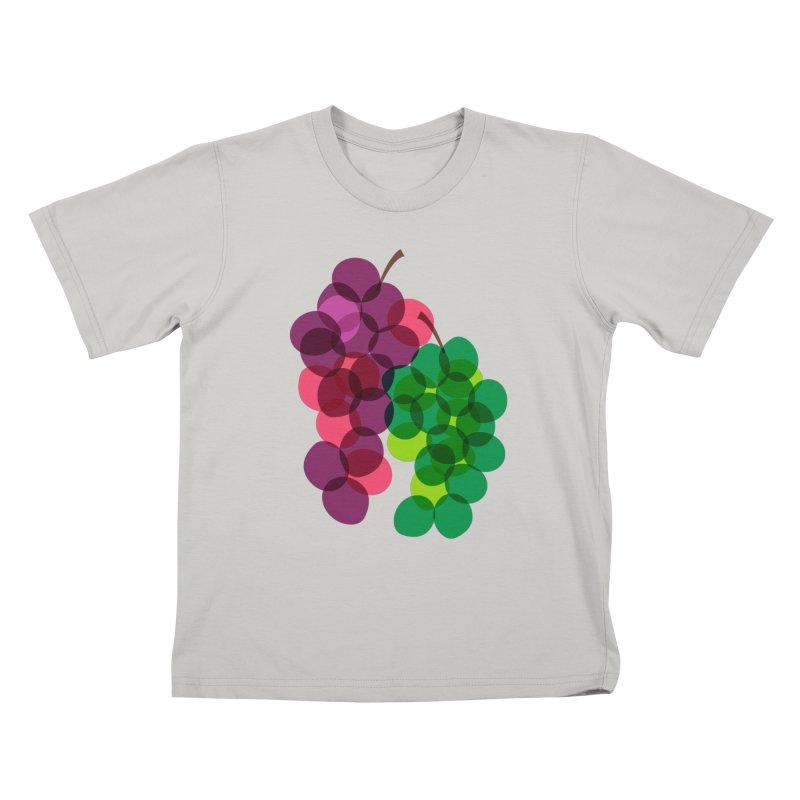 Grapes Kids T-shirt by Sam Osborne Store