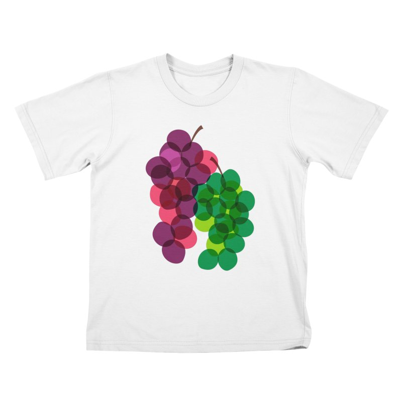 Grapes Kids T-shirt by Sam Osborne Store