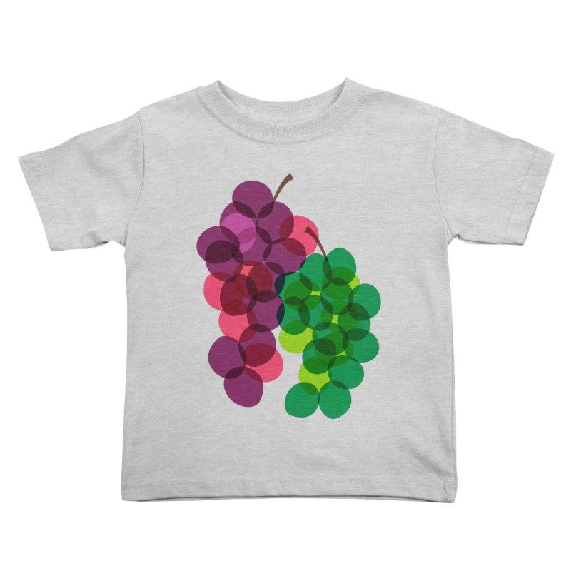 Grapes Kids Toddler T-Shirt by Sam Osborne Store