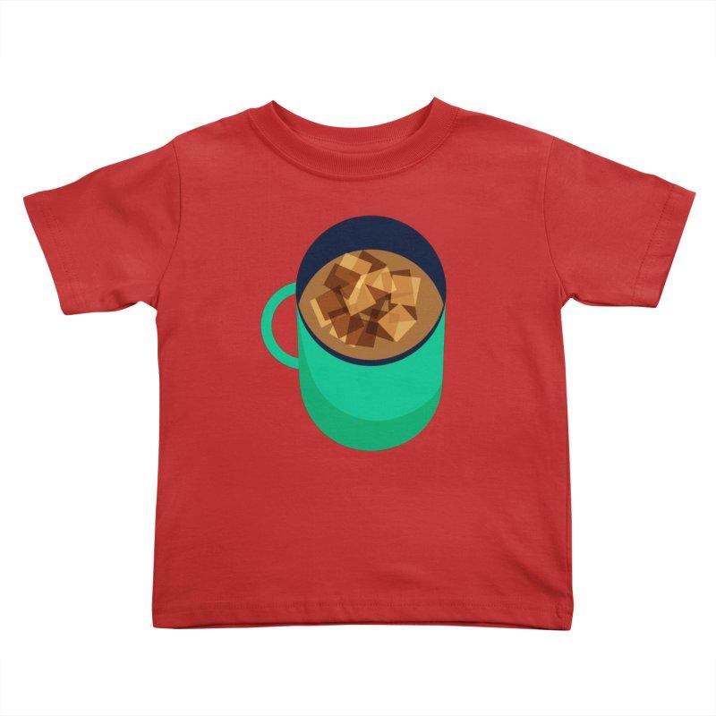 Coffee Kids Toddler T-Shirt by Sam Osborne Store