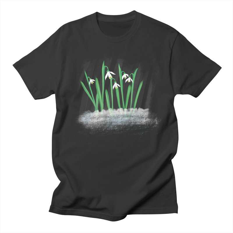 Snow drops Men's T-Shirt by Sam Osborne Store