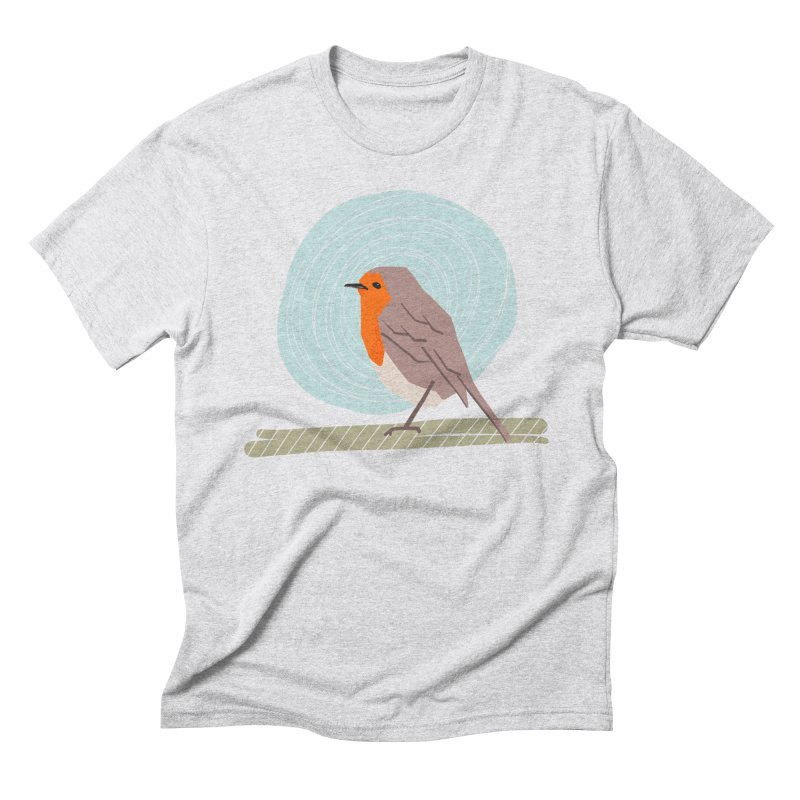 Happy Robin Men's Triblend T-Shirt by Sam Osborne Store