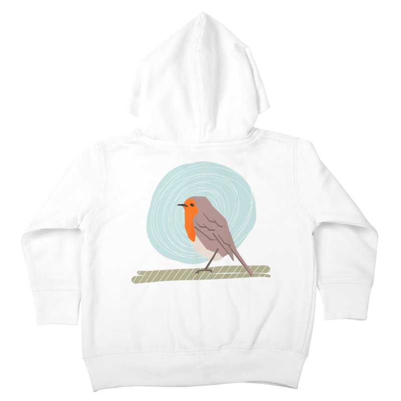 Happy Robin Kids Toddler Zip-Up Hoody by Sam Osborne Store