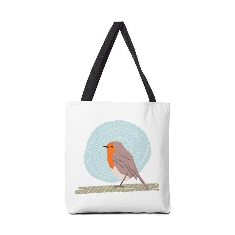 Happy Robin Accessories Tote Bag Bag by Sam Osborne Store