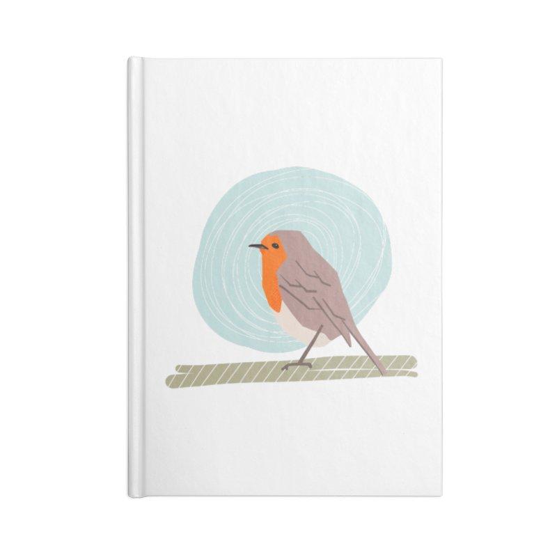 Happy Robin Accessories Notebook by Sam Osborne Store