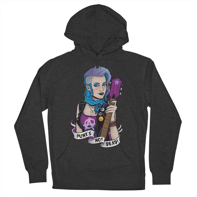 Punk's Not Dead Women's Pullover Hoody by Sam Phillips Illustration