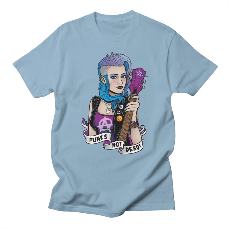 Punk's Not Dead Men's T-Shirt by Sam Phillips Illustration