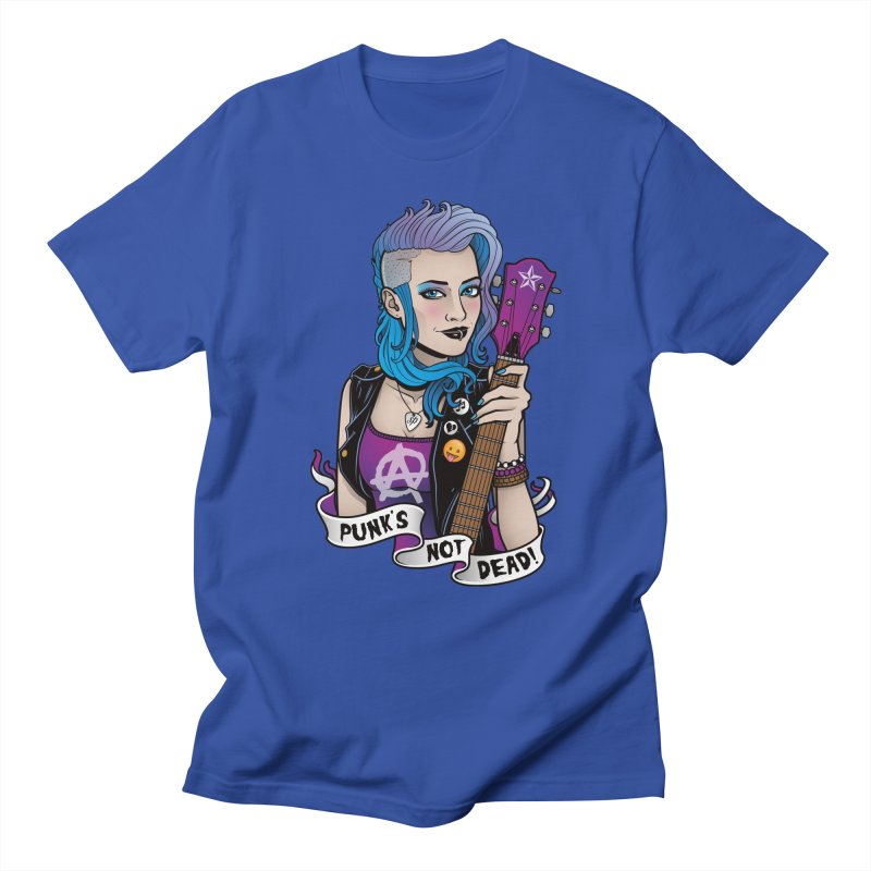 Punk's Not Dead Men's T-shirt by Sam Phillips Illustration