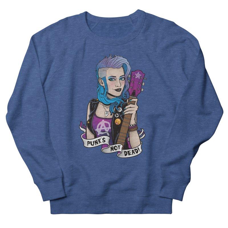 Punk's Not Dead Women's Sweatshirt by Sam Phillips Illustration