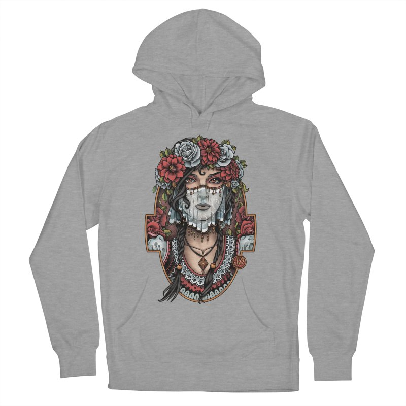 Beautiful Bride Women's Pullover Hoody by Sam Phillips Illustration