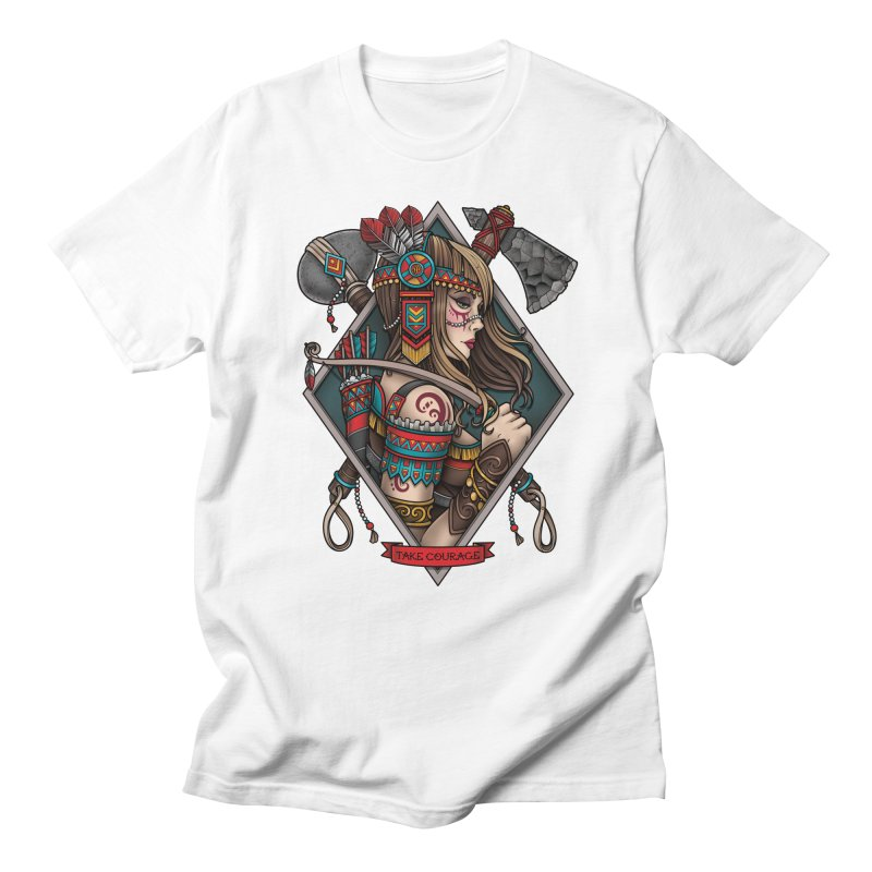 Take Courage Men's T-shirt by Sam Phillips Illustration