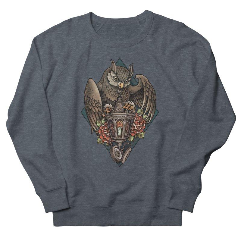 Owl Lantern Women's Sweatshirt by Sam Phillips Illustration