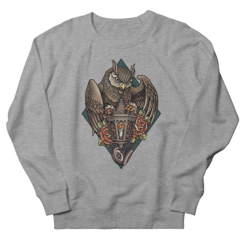 Owl Lantern Men's Sweatshirt by Sam Phillips Illustration