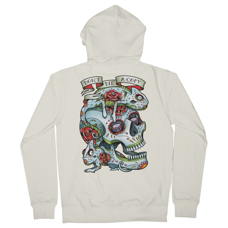 Don't Die A Copy Men's Zip-Up Hoody by Sam Phillips Illustration