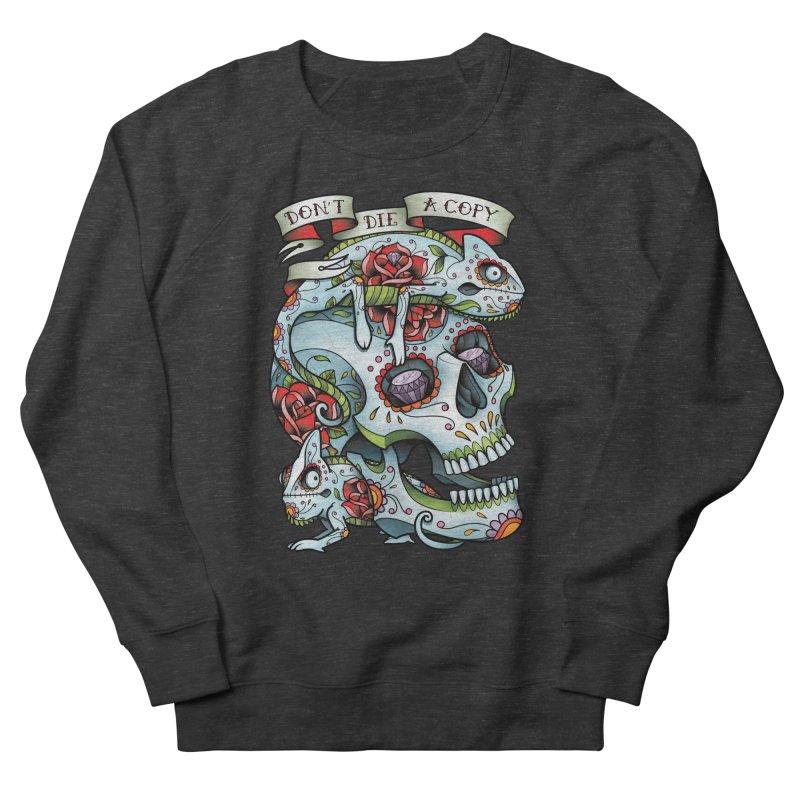 Don't Die A Copy Men's Sweatshirt by Sam Phillips Illustration