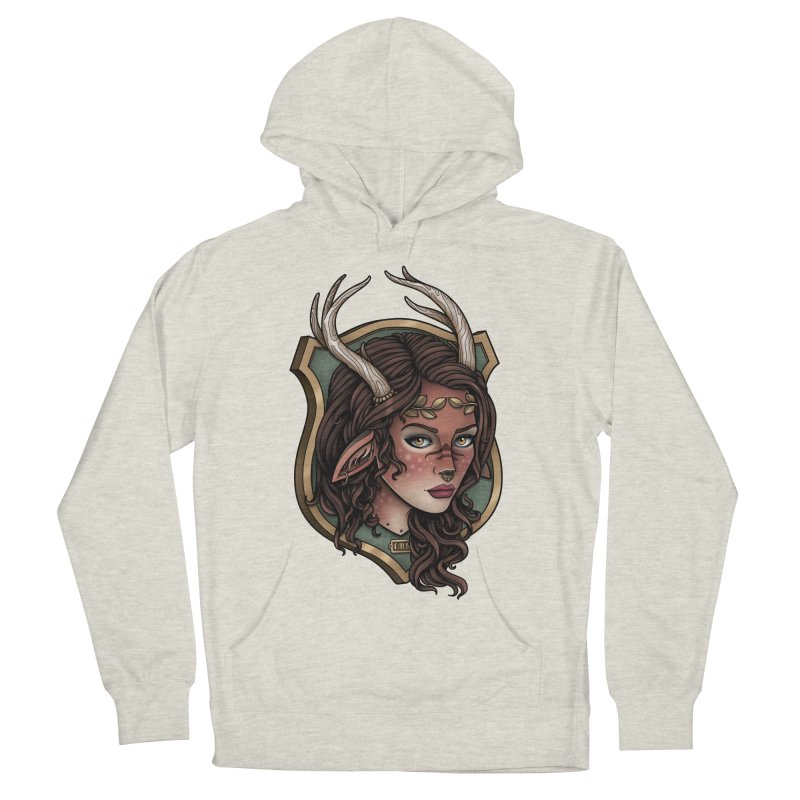Faun Girl Men's Pullover Hoody by Sam Phillips Illustration