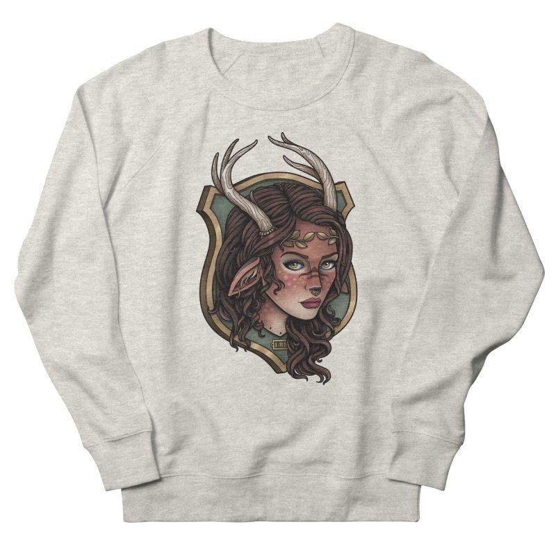 Faun Girl Men's Sweatshirt by Sam Phillips Illustration