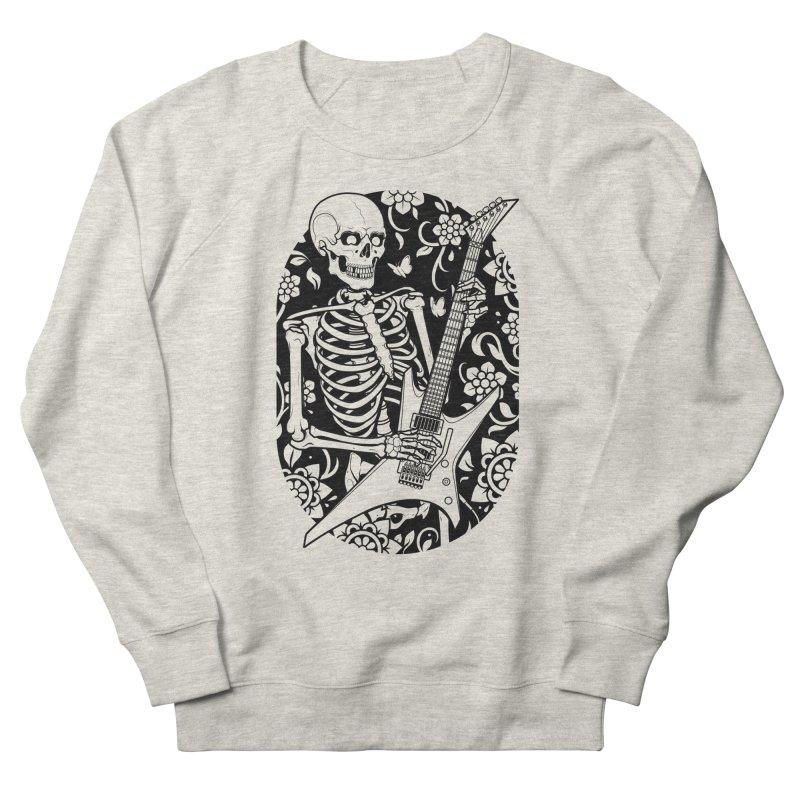 Skeleton Rocker Women's Sweatshirt by Sam Phillips Illustration