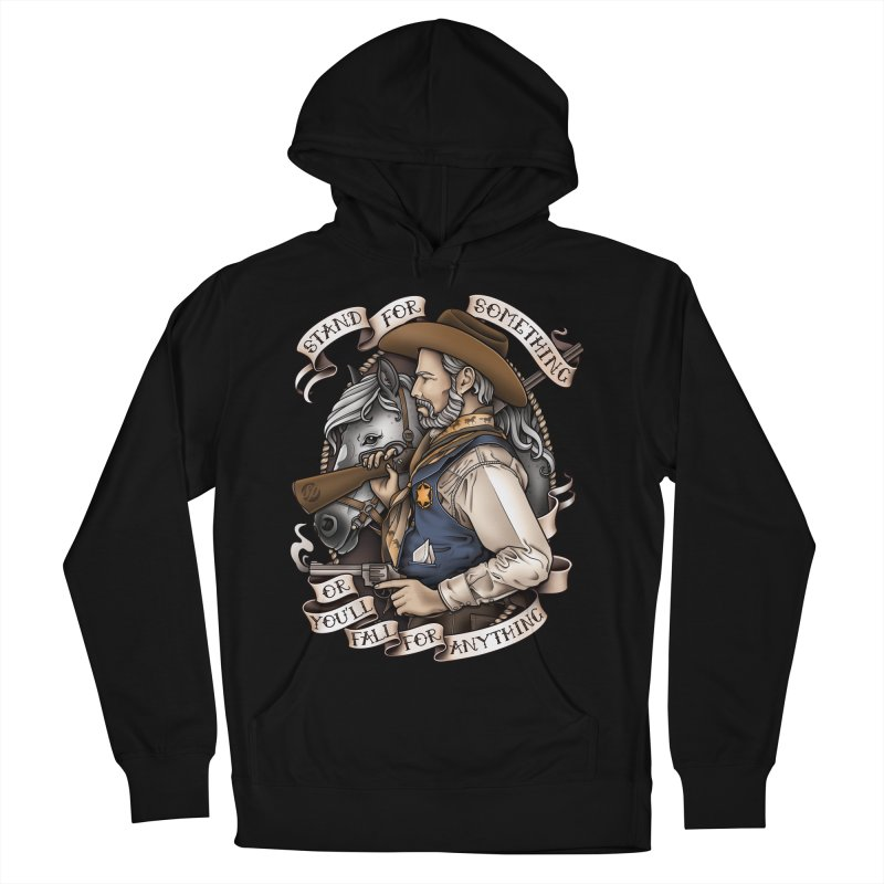 Stand For Something Men's Pullover Hoody by Sam Phillips Illustration