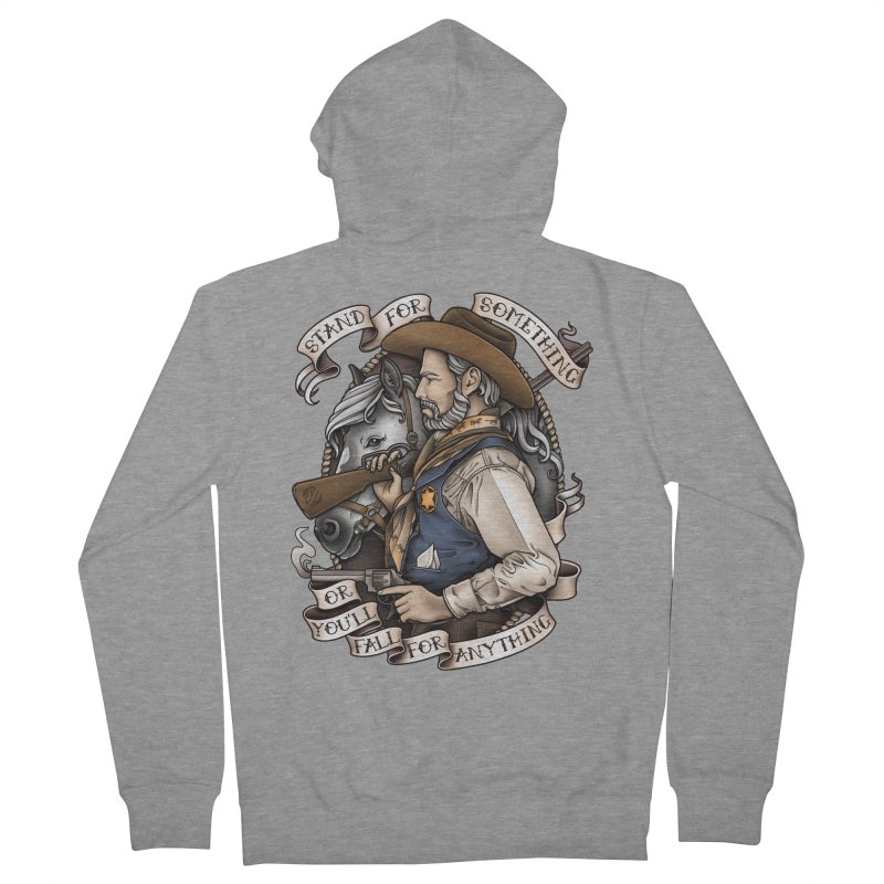 Stand For Something Women's Zip-Up Hoody by Sam Phillips Illustration