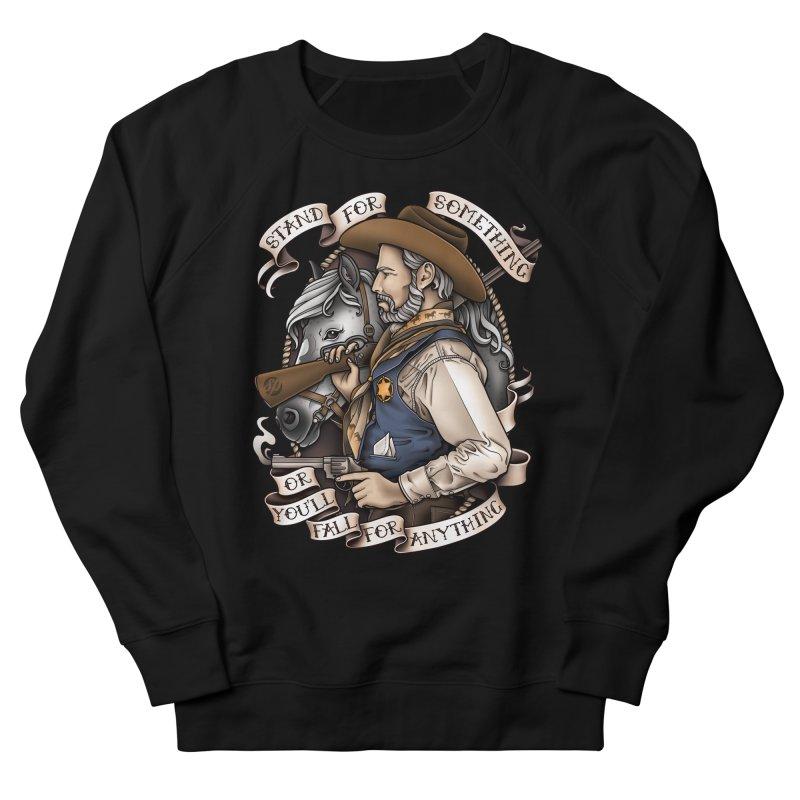 Stand For Something Women's Sweatshirt by Sam Phillips Illustration