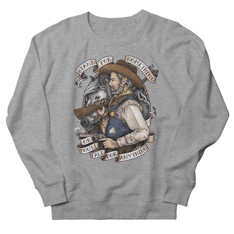 Stand For Something Men's Sweatshirt by Sam Phillips Illustration