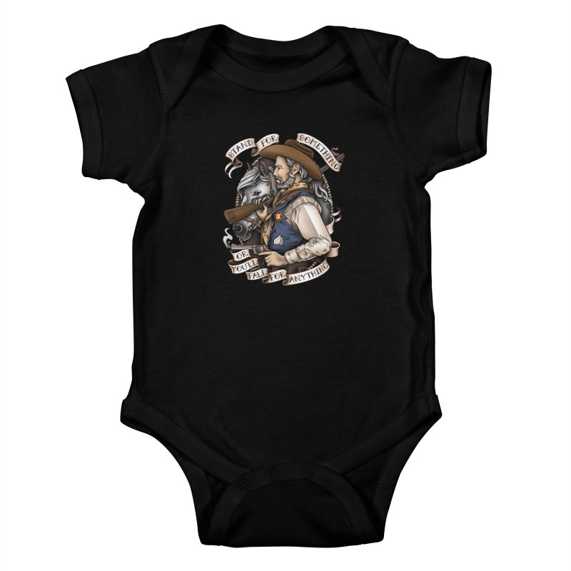 Stand For Something Kids Baby Bodysuit by Sam Phillips Illustration