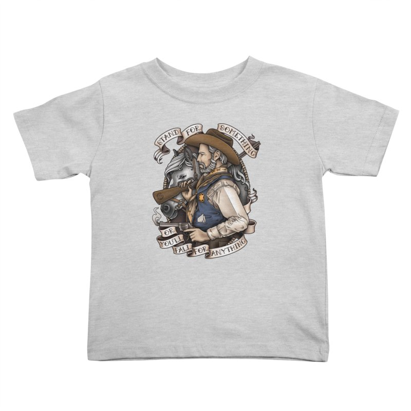 Stand For Something Kids Toddler T-Shirt by Sam Phillips Illustration