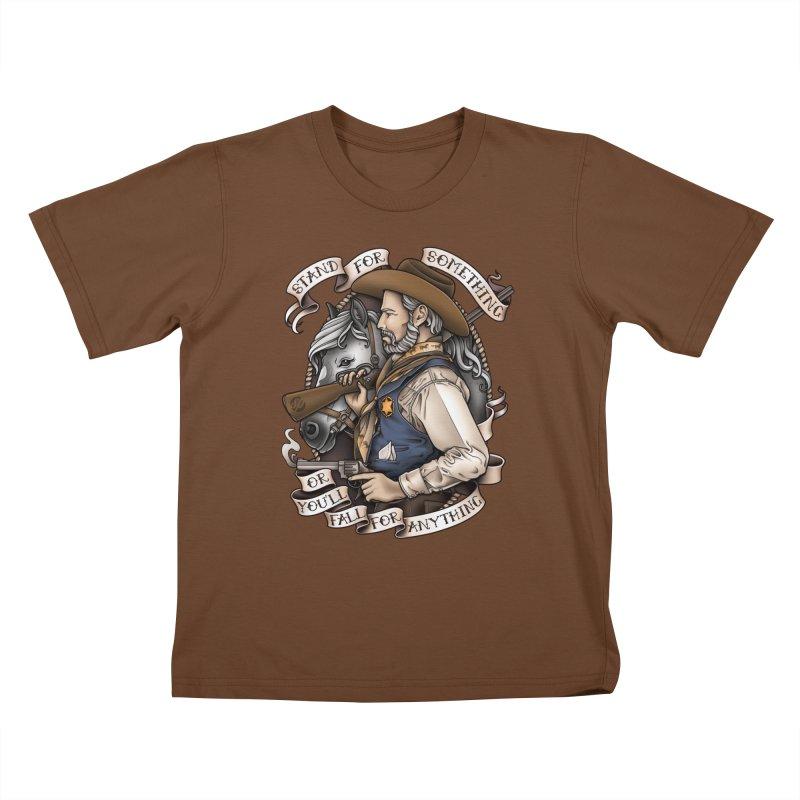 Stand For Something Kids T-Shirt by Sam Phillips Illustration