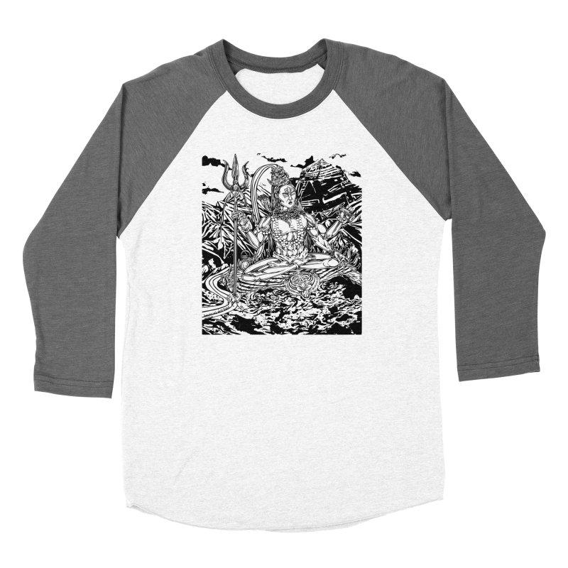 SHIVA THE CREATOR & DESTROYER Women's Longsleeve T-Shirt by  SAMSKARA